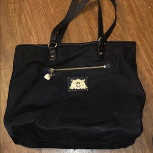 Vintage Juicy Couture Black Nylon tote